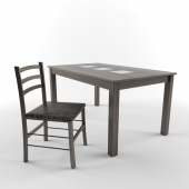 Dining table and chair Antila E Venice
