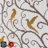 Mosaic Sicis PixALL Augel