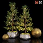 декоративная елка Restoration Hardware