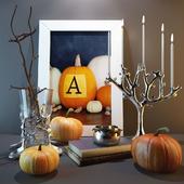 """Decor set """" Pumpkins"""""""