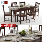 Scavolini Armony Chairs and Table