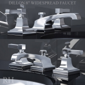 DILLON 8in WIDESPREAD FAUCET