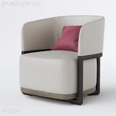 Armchair Flexform Frida