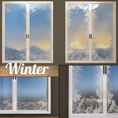 Замерзшие окна