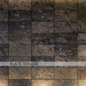 Slate gray antique