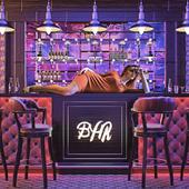 The bar at a nightclub