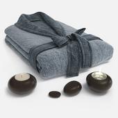 Terry bathrobe