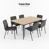 CANE-LINE Core Chair + Table