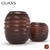 Guaxs vase belly red
