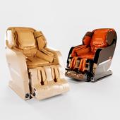 Массажное кресло Yamaguchi Axiom в цветах Champagne и Chrome