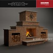 Rockwood Grand Fireplace