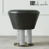 LEONA FOOT STOOL by Kelly Wearstler