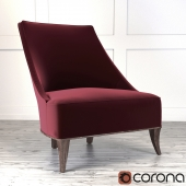 Кресло Crate and Barrel Matisse Armless Slipper Chair