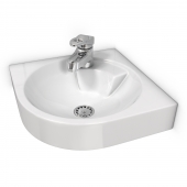 Corner washbasin 044845