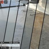 TUREX INTERNATIONAL Marble Tiles Set 45