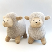 MOUTMOUTE sheep cuddly toy