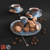 Tea with macaroon