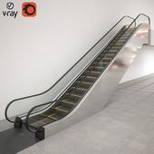 Modular escalator KONE TravelMaster 110