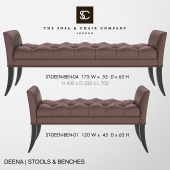 The Sofa and Chair Company - Deena Bench