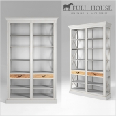 FULL HOUSE. Стеллаж 1BCBG015 white