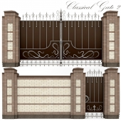 Classical forged gate 2