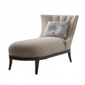MAX SPARROW. AVA CHAISE LINEN WEAVE