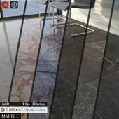 TUREX INTERNATIONAL Marble Tiles Set 01