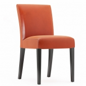 lowe-persimmon-leather-side-chair