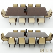 Tura eclipse dining table