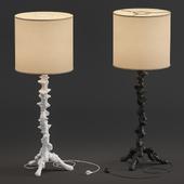 Klemm Cast Resin Floor Lamp