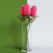 IKEA flower artificial SMIKKA
