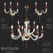 Euroluce Lampadari Люстра / 2 Бра JULIENNE Mirror