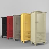 Wooden Wardrobe Storage Armoire