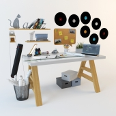 Architect's Home Office Decoration Set