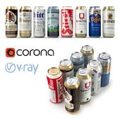 Beer in aluminum banks
