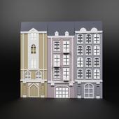 Decorative panel houses