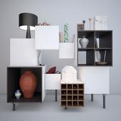 Комод FREE PORT B.D (Barcelona Design) комод и книжный шкаф