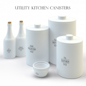 A set of kitchen from West elm