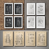 The picture in the frame. 115. Collection of Musical Instruments