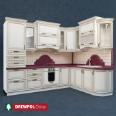 Classical kitchen with facades Drewpol