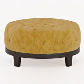 poof round footloose ottoman