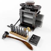 Jeweler's tool kit