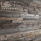 Wooden wall decor from Loftdesign
