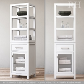HUTTON OPEN SHELF BATH CABINET