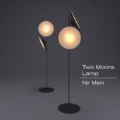 Two moon lamp