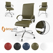 Detay Ofis Complex Office Chair
