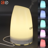 Humidifier with backlight