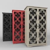 wardrobe : Universal White Wooden Storage Cabinet