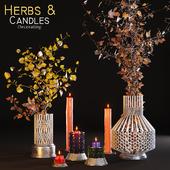 Herbs & Candles / Сухоцвет