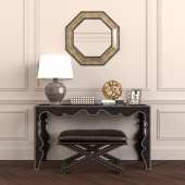 Decorative set in eclectic style